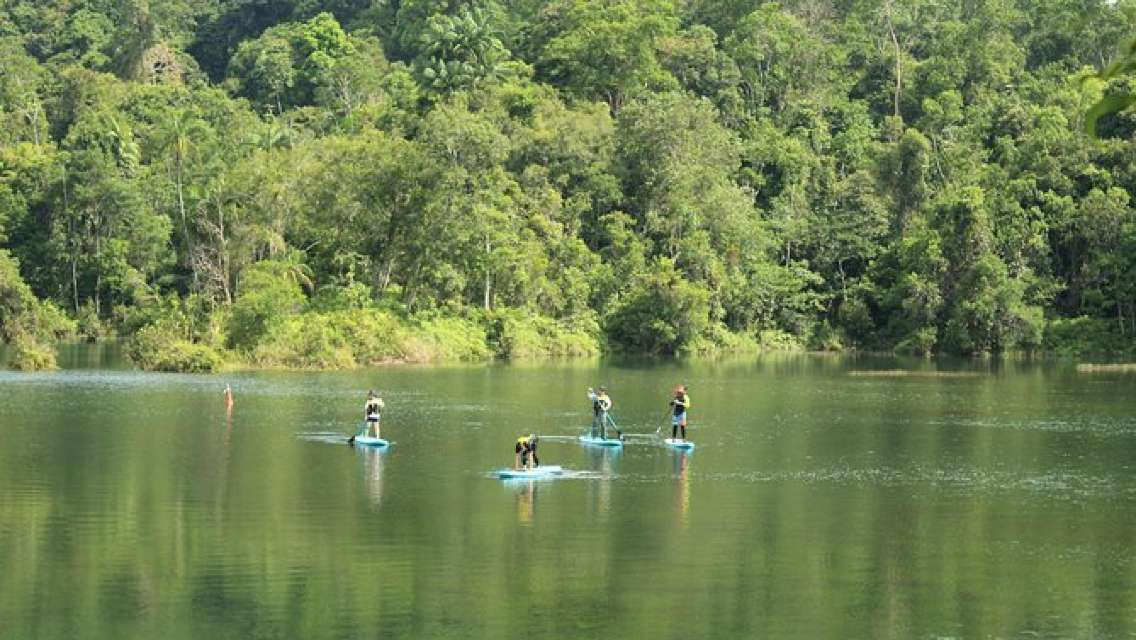 Stand Up Paddling (SUP) Intro Lesson and Eco-Tour