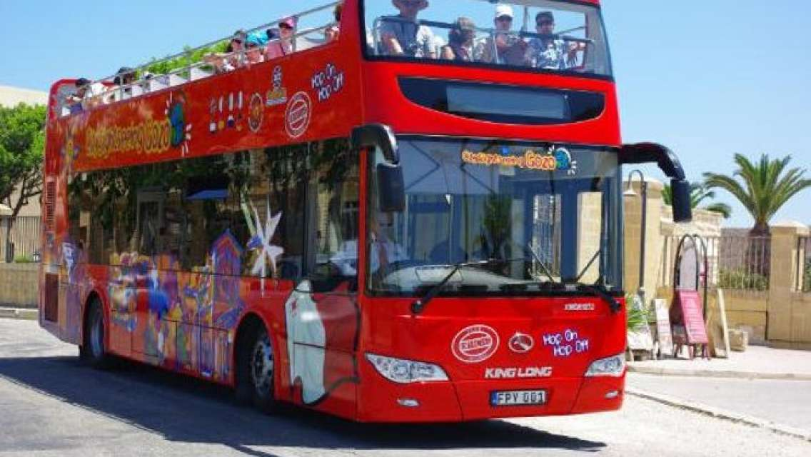 City Sightseeing Gozo Hop-On Hop-Off Bus Tour