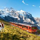 瑞士少女峰 登山齒輪火車+阿爾卑斯山震撼體驗館+斯芬克斯天文台+冰宮一日遊(蘇黎世出發)