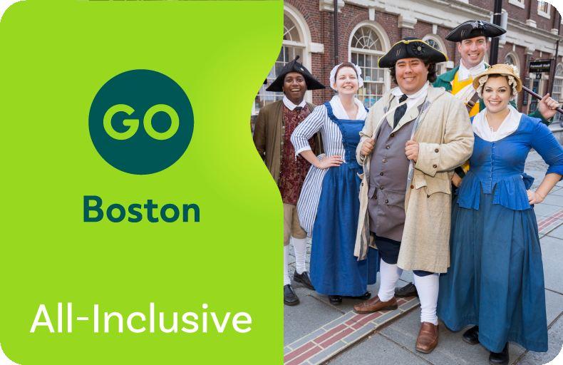 波士頓全天暢遊通票 Go Boston Pass | All-Inclusive Pass(可選1/2/3/5/7日票)