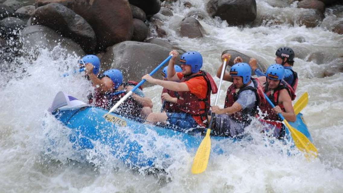 White Water Rafting Class II- III From Sarapiquí