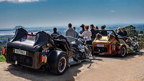 Epic & Unique V8 Trike Ride, Mount Maunganui & Tauranga