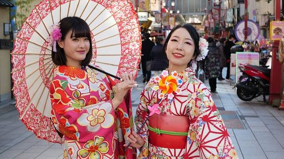 Kimono Rental Tokyobon