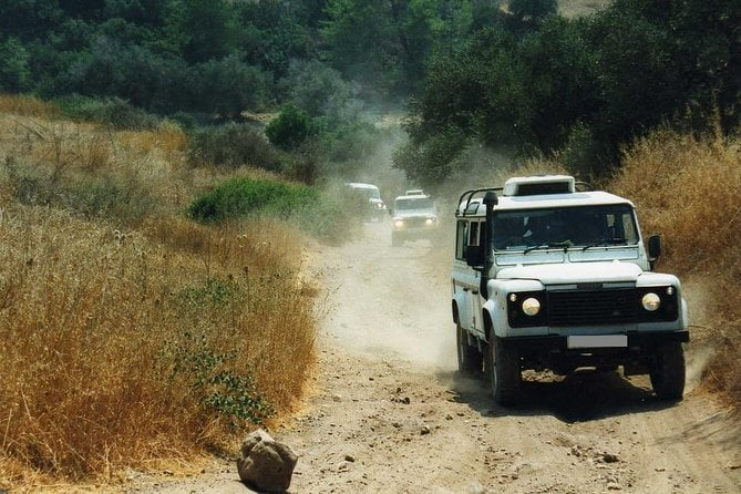 Grand Tour Full Day Jeep Safari from Larnaca