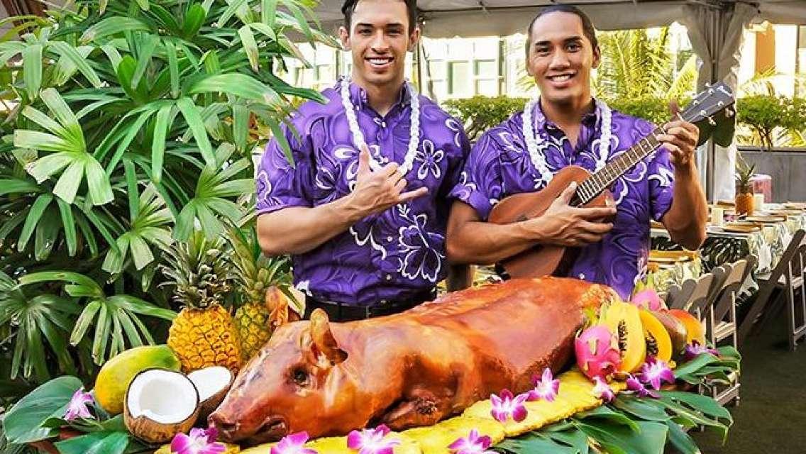 Rock-A-Hula Luau Buffet and Show Ticket