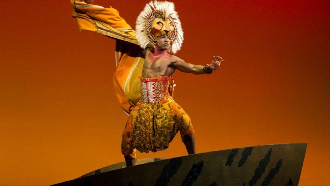 런던 West End 뮤지컬 라이언킹 저녁 7시 30분 공연