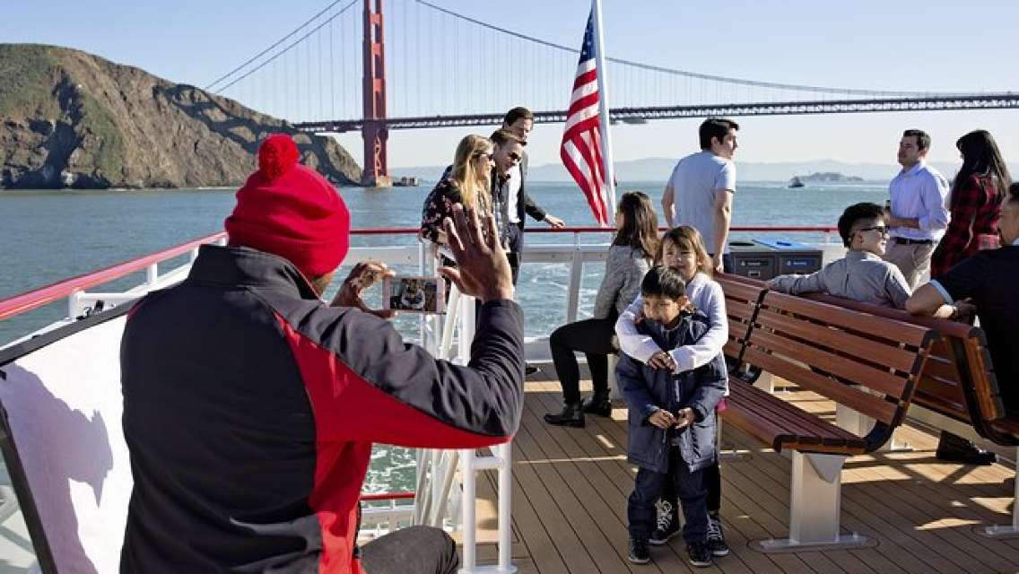 Straight to the Gate Access: San Francisco Bridge-to-Bridge Cruise
