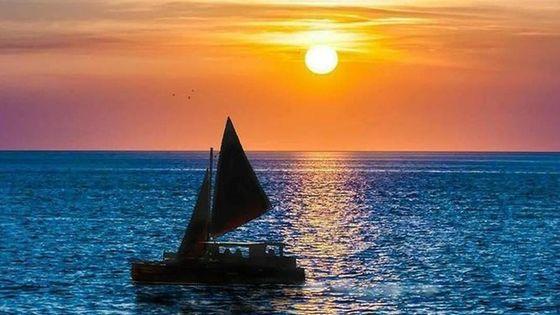 Polynesian Canoe Sunset Sail