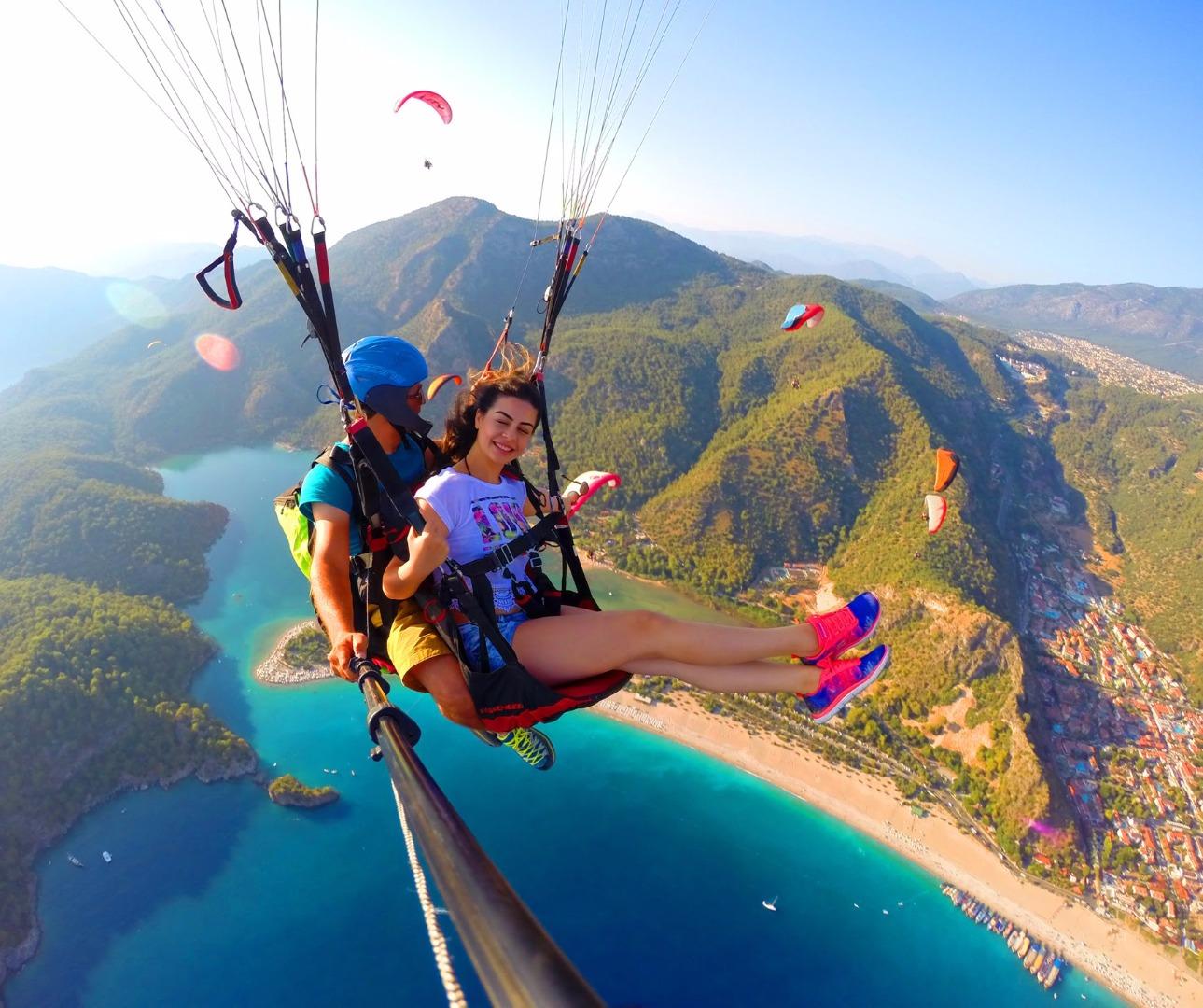 費特希耶滑翔傘體驗(可選 GoPro 拍攝+酒店接送)