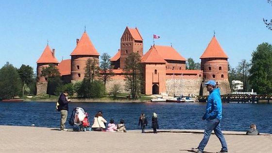 Full-Day Vilnius City Tour and Trakai Castle from Vilnius