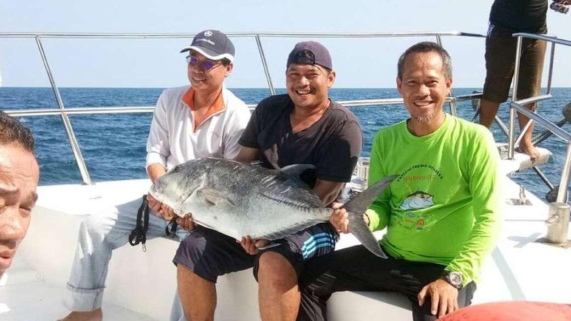 Langkawi Joy Fishing with Island Hopping Tour