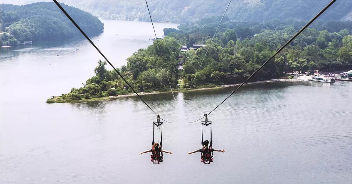 南怡島 & 江村鐵路自行車 & 小法國村 經典一日遊