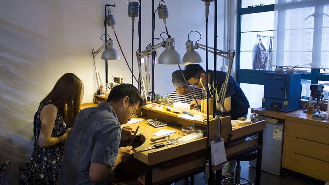香港中環 Obellery 手工珠寶製作體驗