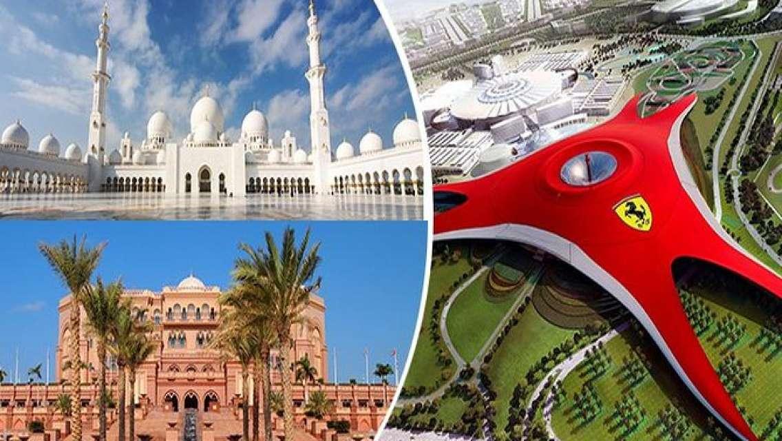 Abu Dhabi City Tour With Ferrari World Entrance Tickets