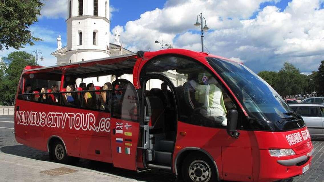 Vilnius City Tour audio guide one round 11 languges