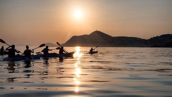 Sunset Sea Kayaking and Wine Tasting Tour Dubrovnik