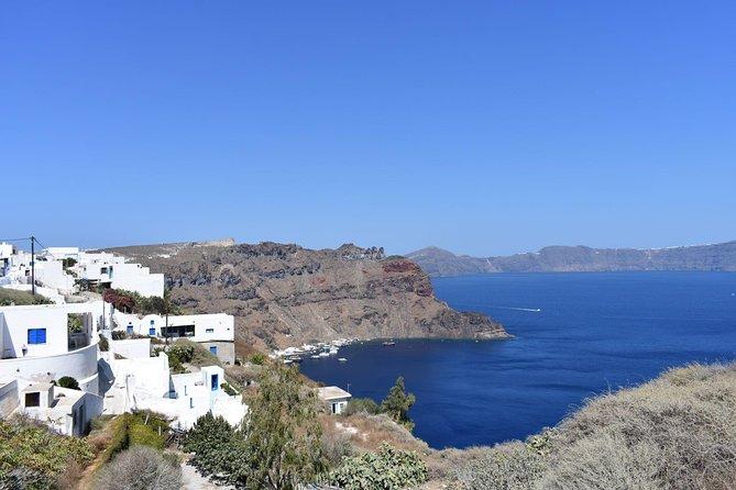 Walking Tour on Thirasia island, the small and pure neighbor of Santorini