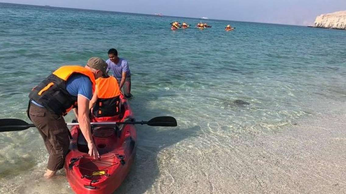 Kayaking in Khasab - Double Kayak (Shore excursions)