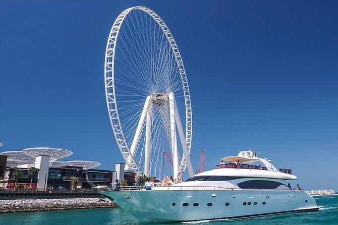 Dubai Marina Luxury Yacht Tour with Breakfast or BBQ
