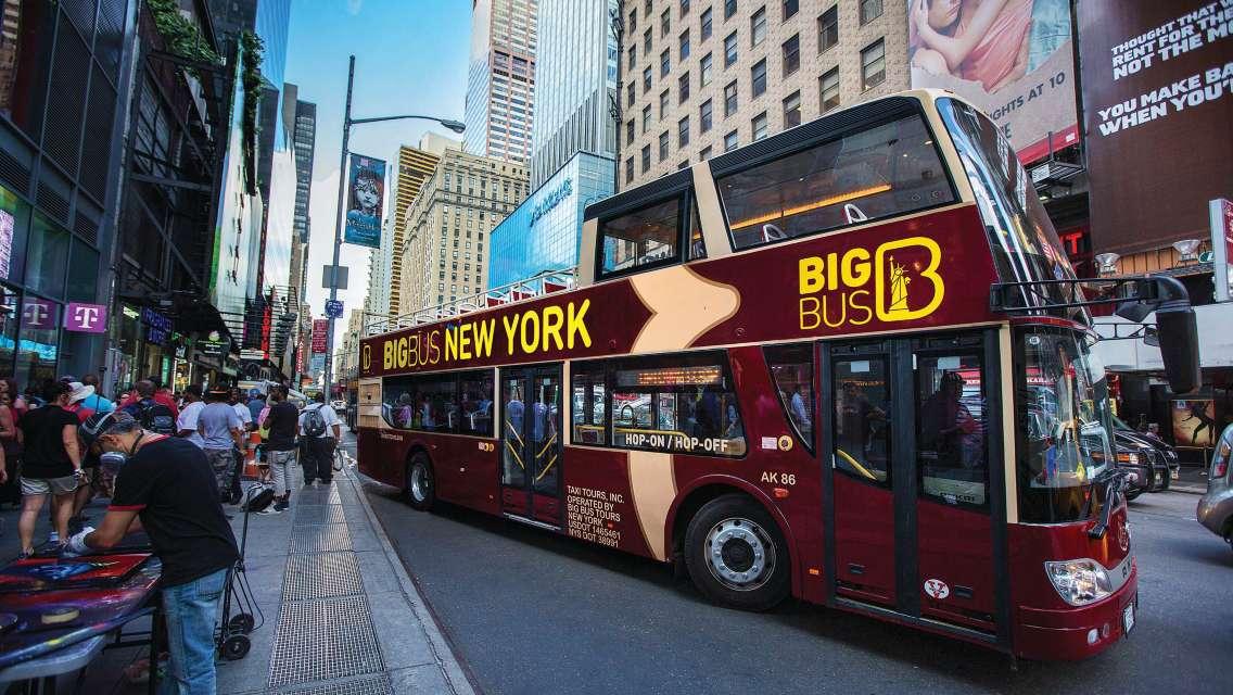 Big Bus New York 紐約隨上隨下觀光巴士