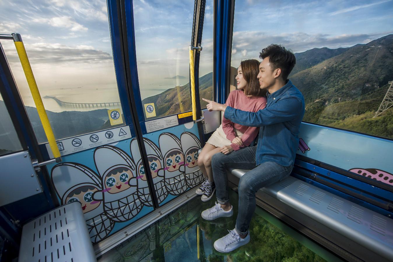 Ngong Ping 360 Cable Car Ticket