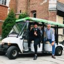 The best view of Krakow from Golf Cars