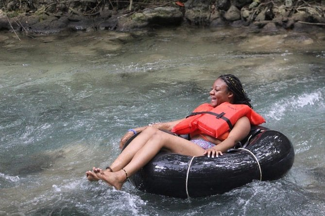 Blue Hole Adventurous and Relaxing River Tubing water Activities in Ocho Rios