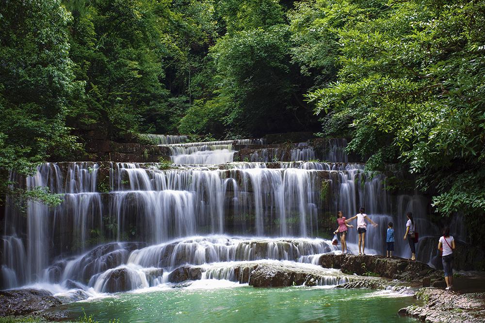 南寧九龍瀑布群國家森林公園+中華茉莉園+寶華山一日遊