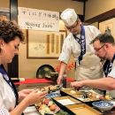 Osaka Kuromon market & Dotonbori area Explore with Sushi Making Experience