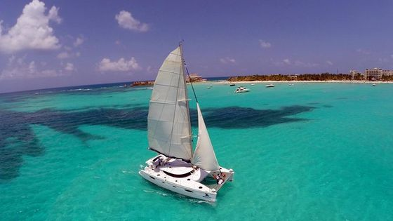 Isla Mujeres all inclusive Catamaran Sailing From Cancun