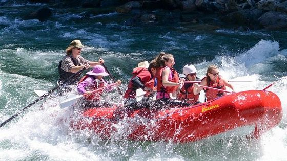 Upper Skagit Introductory Whitewater Rafting Trip