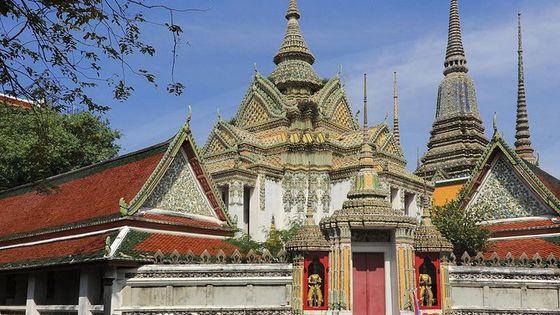 プライベート・ツアー:バンコク寺院めぐり、ワット・ポーの涅槃仏を含む