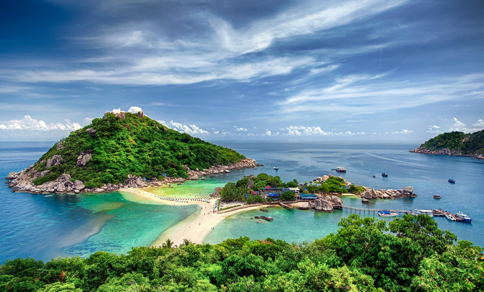 蘇梅島南園島+濤島浮潛一日遊(海景餐廳+碼頭早餐+浮潛+觀景臺)