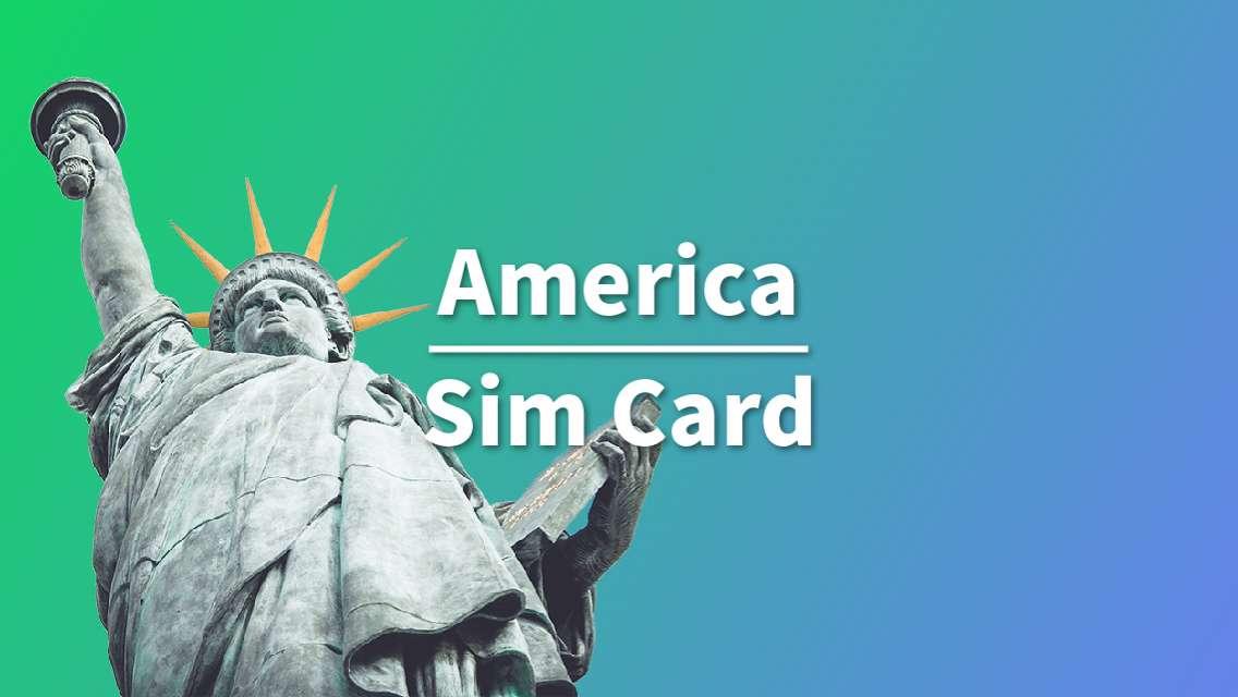 4G SIM Card for USA (Hong Kong Pickup)