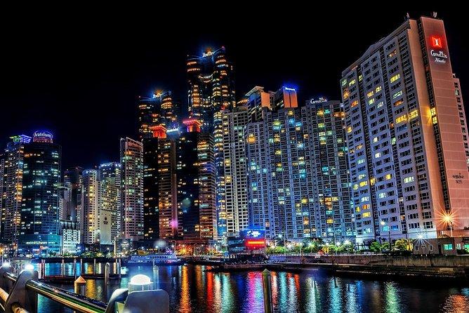 Haeundae & Diamond Bridge Night View tour (3 Hours)