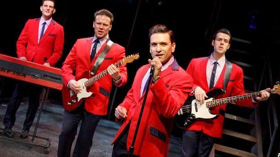 Jersey Boys On Broadway Ticket