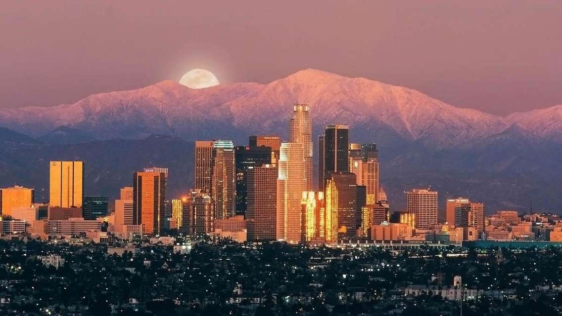洛杉磯聖莫尼卡海灘+蓋蒂中心+比佛利山莊+洛杉磯古城一日遊(中英雙語導遊/深度遊覽)