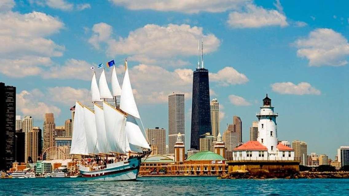 Chicago Skyline Tall Ship Cruise