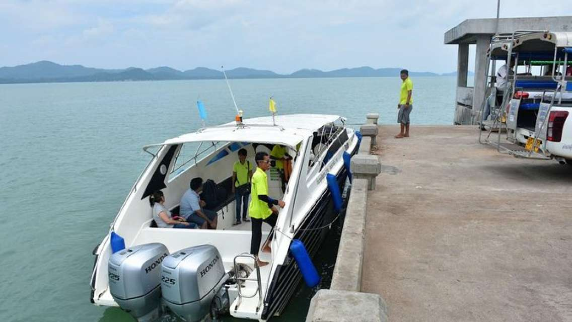 Ao Nang to Koh Yao Noi by Green Planet Speed Boat