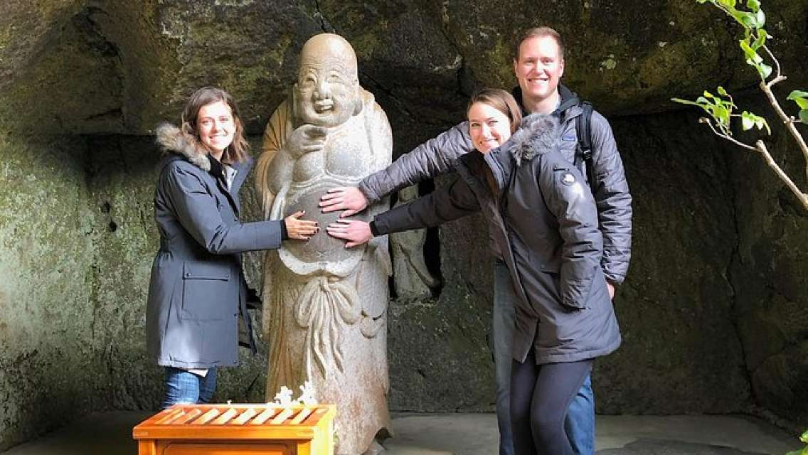 Kamakura Half Day Walking Tour with Kotokuin Great Buddha