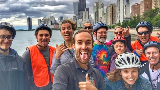 Chicago Family Food & Bike Tour with Top Attractions