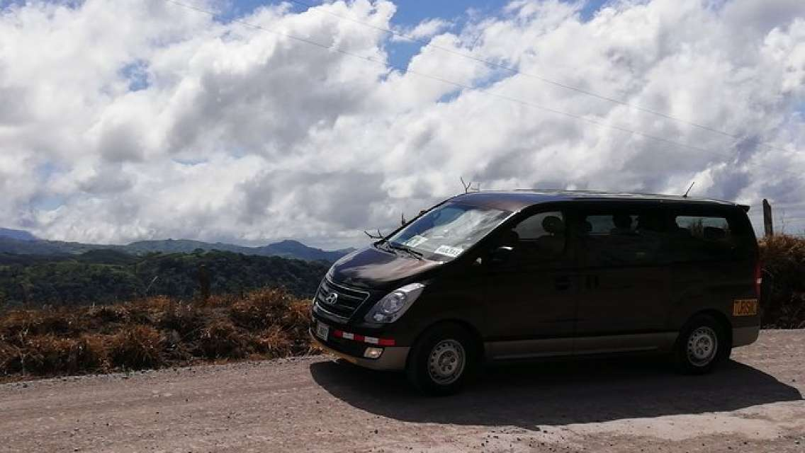 Private Transfer from Monteverde to Jaco up to 5 passengers.