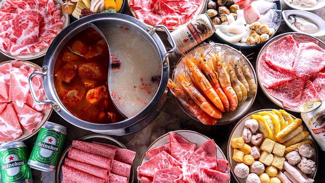 台灣 Beef King 日本和牛鍋物放題餐券