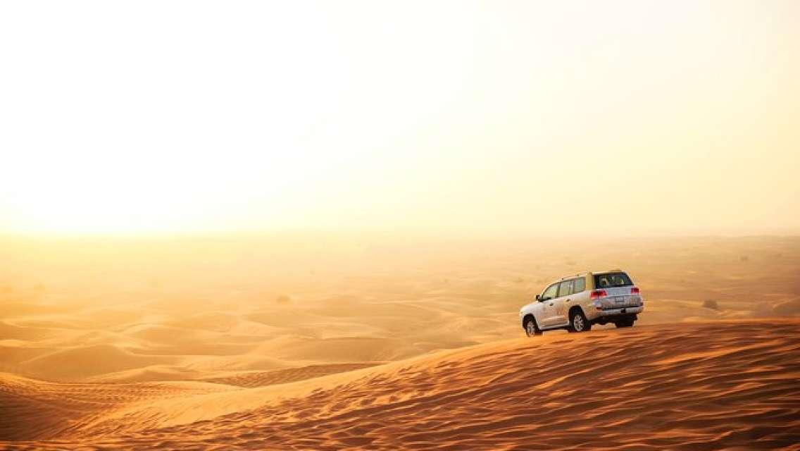 Royal Private Morning Desert Safari - Exclusive SUV