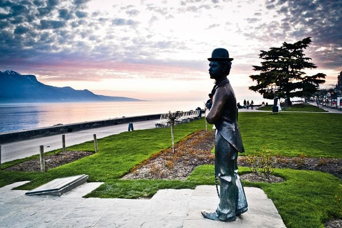 Riviera line to Vevey, Chaplin, Montreux, Lavaux tour and optional cruise from Lausanne