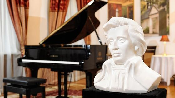 Chopin Piano Concert at Chopin Gallery with a Glass of Wine