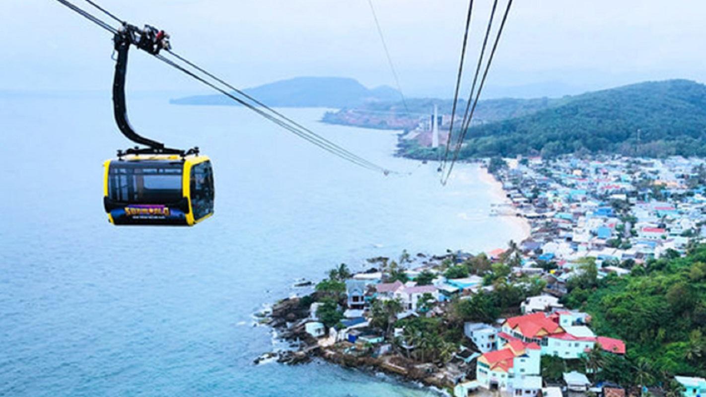 富國島香島公園跨海纜車雙程票+專車接送(可選增加自助餐)
