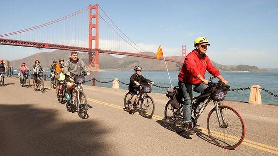 San Francisco Golden Gate Bridge to Sausalito Guided Bike Tour