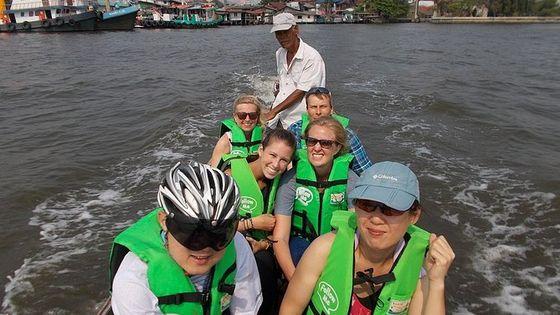 バンコク発サイアム サワン半日ジャングル サイクリング ツアー