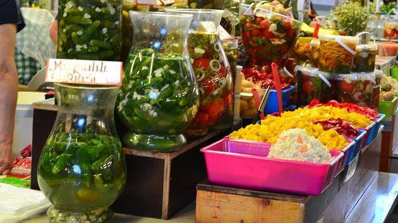 Latvian food tasting tour at Riga Central market